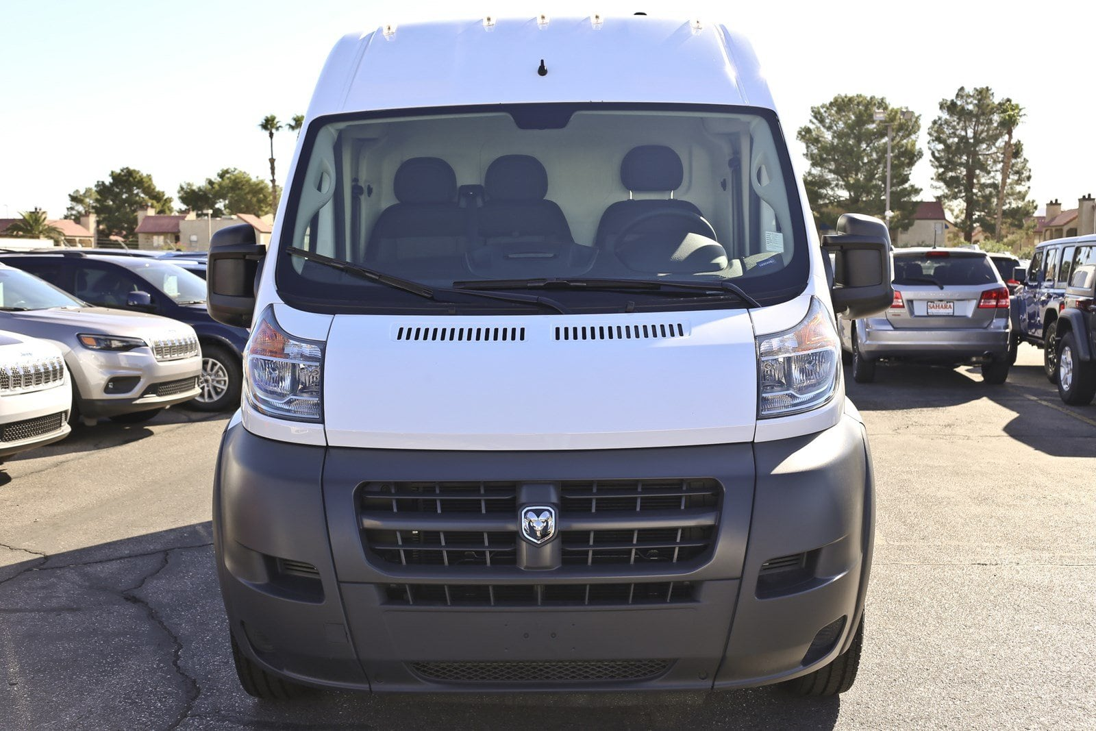 2018 ProMaster 1500 High Roof FWD,  Empty Cargo Van #11384 - photo 4