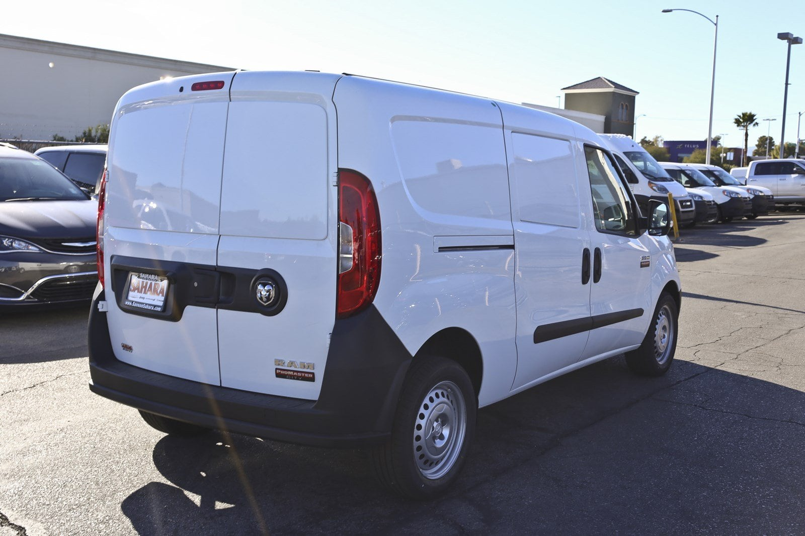 2018 ProMaster City FWD,  Empty Cargo Van #11816 - photo 7