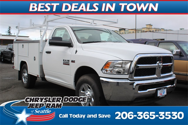2018 Ram 2500 Regular Cab 4x2,  Harbor TradeMaster Service Body #300570 - photo 1