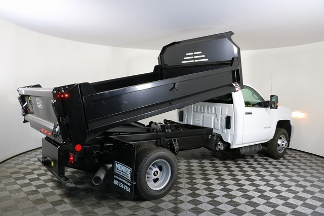 2018 Silverado 3500 Regular Cab DRW 4x4,  Monroe Dump Body #F8035 - photo 12