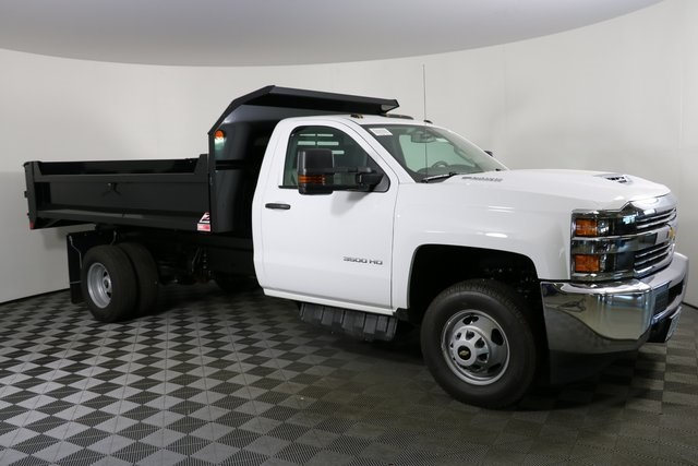 2018 Silverado 3500 Regular Cab DRW 4x4,  Monroe Dump Body #F8035 - photo 4