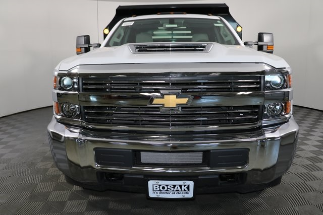 2018 Silverado 3500 Regular Cab DRW 4x4,  Monroe Dump Body #F8035 - photo 6