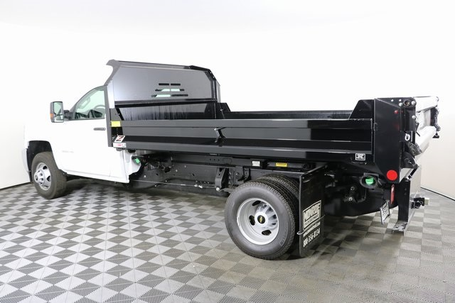2018 Silverado 3500 Regular Cab DRW 4x4,  Monroe Dump Body #F8036 - photo 2