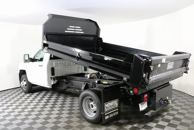 2018 Silverado 3500 Regular Cab DRW 4x4,  Monroe MTE-Zee Dump Body #F8036 - photo 9