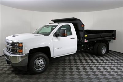 2018 Silverado 3500 Regular Cab DRW 4x4,  Monroe MTE-Zee Dump Body #F8036 - photo 3