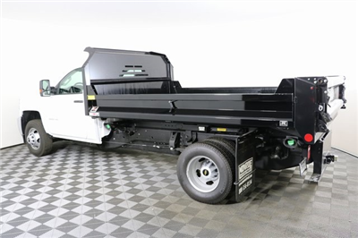 2018 Silverado 3500 Regular Cab DRW 4x4,  Monroe MTE-Zee Dump Body #F8036 - photo 2