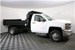 2018 Silverado 3500 Regular Cab DRW 4x4,  Monroe MTE-Zee Dump Body #F8036 - photo 4