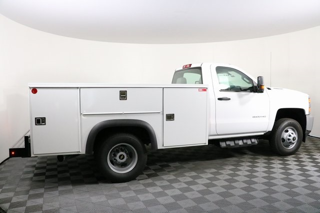 2018 Silverado 3500 Regular Cab DRW 4x4,  Monroe Service Body #F8037 - photo 11