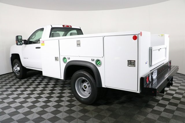 2018 Silverado 3500 Regular Cab DRW 4x4,  Monroe Service Body #F8037 - photo 2