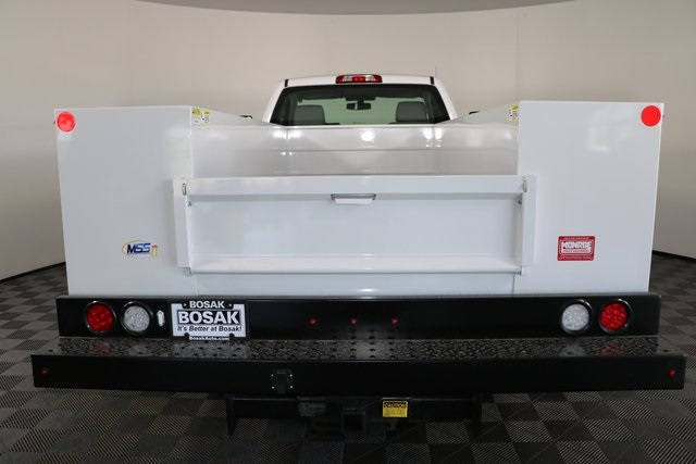 2018 Silverado 3500 Regular Cab DRW 4x4,  Monroe Service Body #F8037 - photo 14