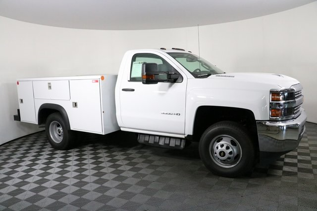 2018 Silverado 3500 Regular Cab DRW 4x4,  Monroe Service Body #F8037 - photo 4