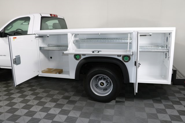 2018 Silverado 3500 Regular Cab DRW 4x4,  Monroe Service Body #F8037 - photo 10
