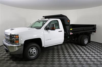2018 Silverado 3500 Regular Cab DRW 4x4,  Monroe MTE-Zee Dump Body #F8038 - photo 3