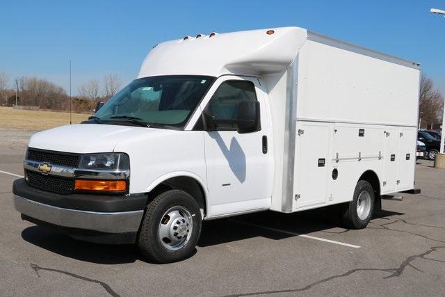 2019 Express 3500 4x2,  Supreme Service Utility Van #F9014 - photo 3