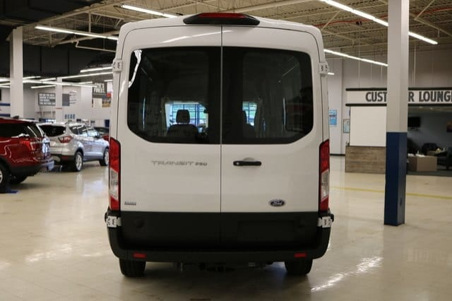 2019 Transit 250 Med Roof 4x2,  Empty Cargo Van #F9016 - photo 7