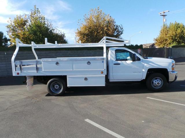 2019 Silverado 3500 Regular Cab DRW 4x2,  Royal Contractor Body #19T0124 - photo 3