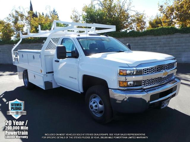 2019 Silverado 3500 Regular Cab DRW 4x2,  Royal Contractor Body #19T0128 - photo 1
