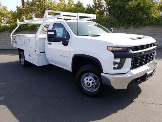 2020 Chevrolet Silverado 3500 Regular Cab DRW RWD, Royal Contractor Body #20TC0732 - photo 1