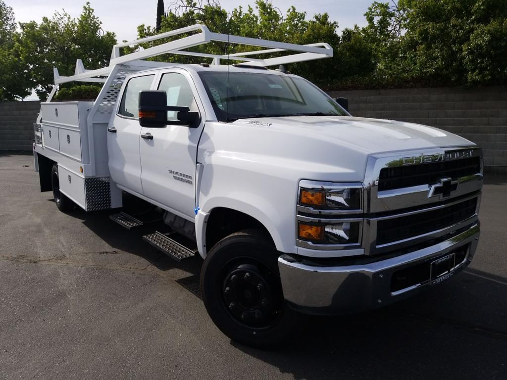 2021 Chevrolet Silverado Medium Duty DRW 4x2, Scelzi Contractor Body #21TC0488 - photo 1