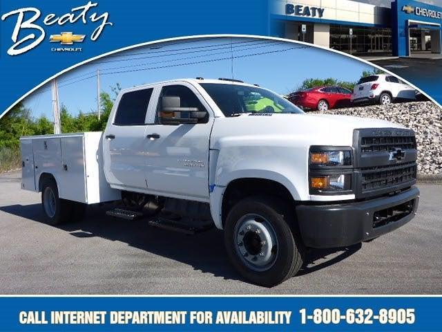 2020 Chevrolet Silverado 4500 Crew Cab DRW 4x2, Reading Service Body #22933 - photo 1
