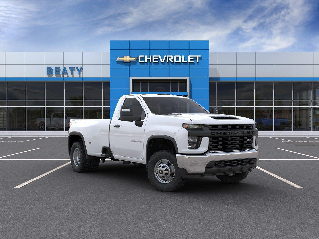 2020 Chevrolet Silverado 3500 Regular Cab 4x4, CM Truck Beds Platform Body #23022 - photo 1