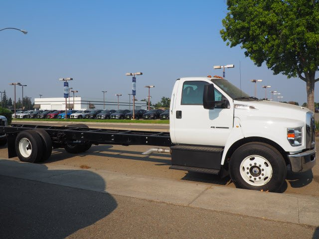 2018 F-650 Regular Cab DRW 4x2,  Scelzi Stake Bed #T12909 - photo 12