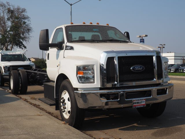 2018 F-650 Regular Cab DRW 4x2,  Scelzi Stake Bed #T12909 - photo 4