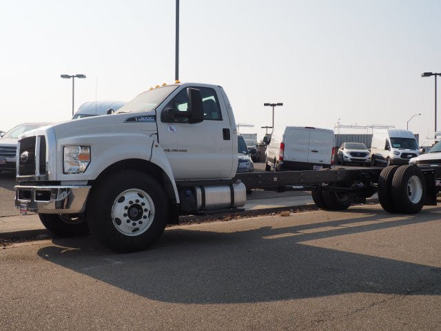 2018 F-650 Regular Cab DRW 4x2,  Scelzi Stake Bed #T12909 - photo 6