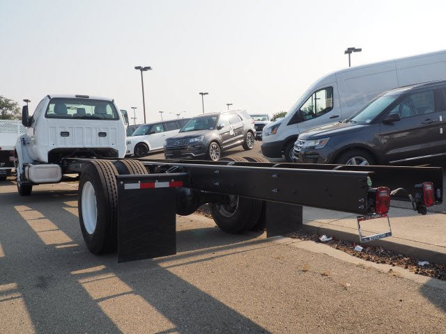 2018 F-650 Regular Cab DRW 4x2,  Scelzi Stake Bed #T12909 - photo 9