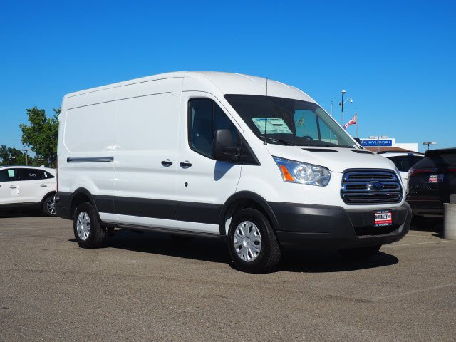 2018 Transit 250 Med Roof 4x2,  Sortimo Upfitted Cargo Van #T13361 - photo 3