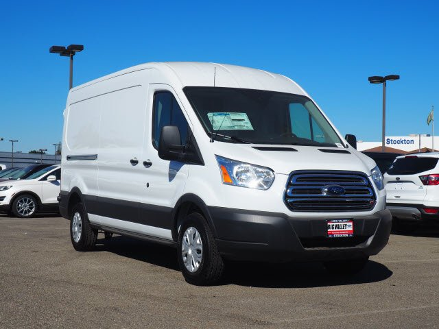2018 Transit 250 Med Roof 4x2,  Sortimo Upfitted Cargo Van #T13361 - photo 4