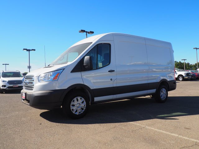 2018 Transit 250 Med Roof 4x2,  Sortimo Upfitted Cargo Van #T13361 - photo 6