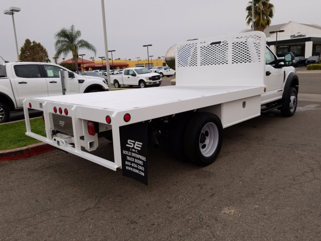 2020 Ford F-550 Regular Cab DRW RWD, Scelzi Platform Body #T18004 - photo 1