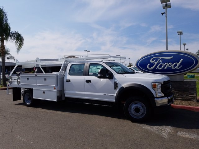 2020 Ford F-550 Crew Cab DRW RWD, Scelzi Contractor Body #T18019 - photo 1
