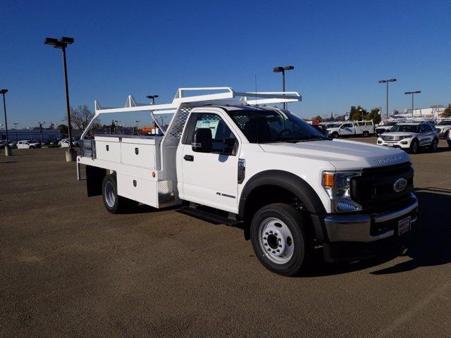 2020 Ford F-450 Regular Cab DRW 4x2, Scelzi Contractor Body #W1048 - photo 1