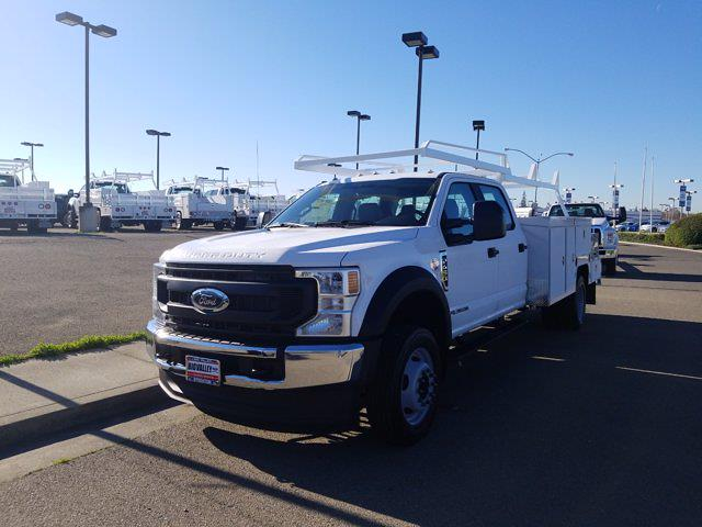 2021 Ford F-450 Crew Cab DRW 4x2, Scelzi Combo Body #W1082 - photo 1