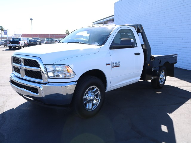 2018 Ram 3500 Regular Cab 4x2,  Bradford Built Platform Body #R8187 - photo 4
