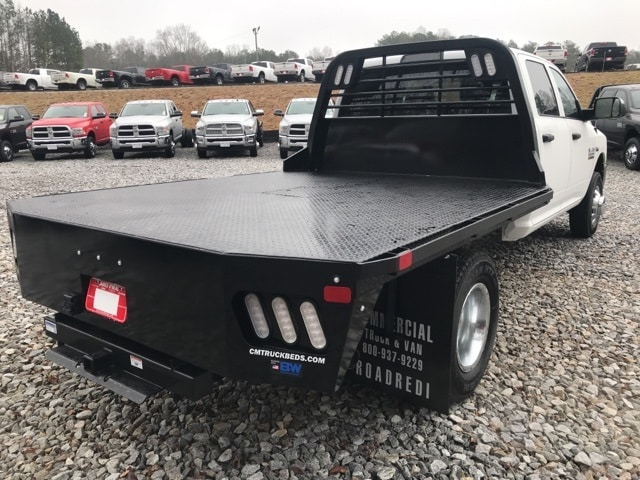 2018 Ram 3500 Crew Cab DRW 4x4,  CM Truck Beds Platform Body #18243 - photo 2