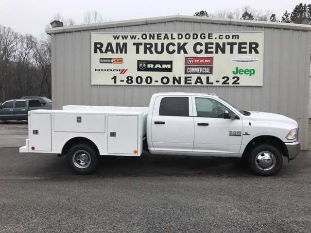 2018 Ram 3500 Crew Cab DRW 4x4,  Warner Service Body #18254 - photo 3
