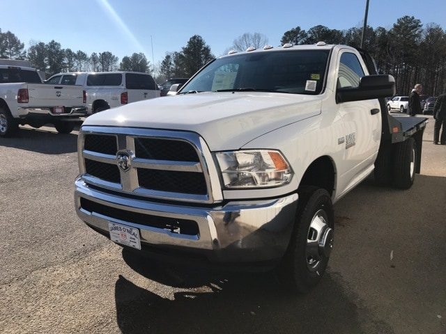 2018 Ram 3500 Regular Cab DRW 4x4,  CM Truck Beds Platform Body #18255 - photo 18