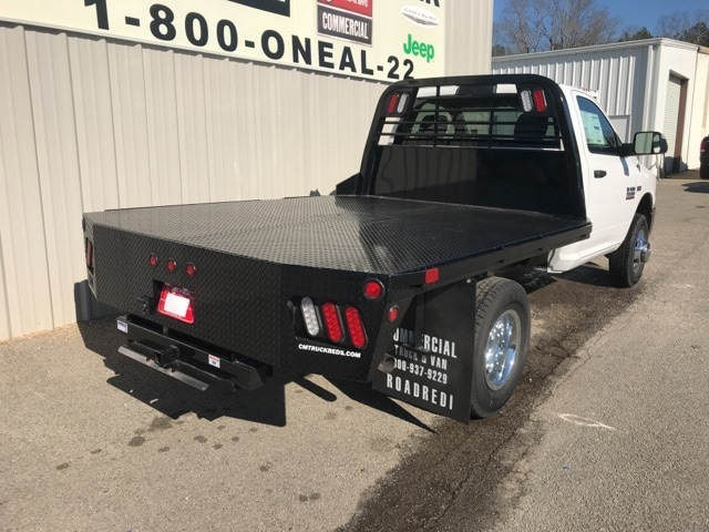 2018 Ram 3500 Regular Cab DRW 4x4,  CM Truck Beds Platform Body #18255 - photo 2