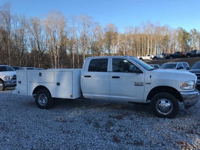 2018 Ram 3500 Crew Cab DRW 4x4,  Warner Service Body #18310 - photo 3