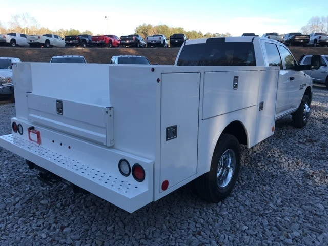 2018 Ram 3500 Crew Cab DRW 4x4,  Warner Service Body #18310 - photo 2