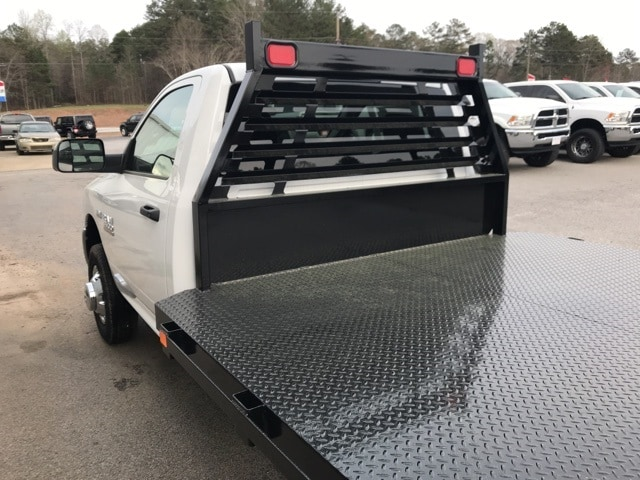 2018 Ram 3500 Regular Cab DRW 4x4,  Commercial Truck & Van Equipment Platform Body #18412 - photo 10