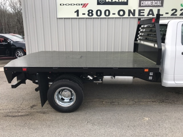 2018 Ram 3500 Regular Cab DRW 4x4,  Commercial Truck & Van Equipment Platform Body #18412 - photo 4