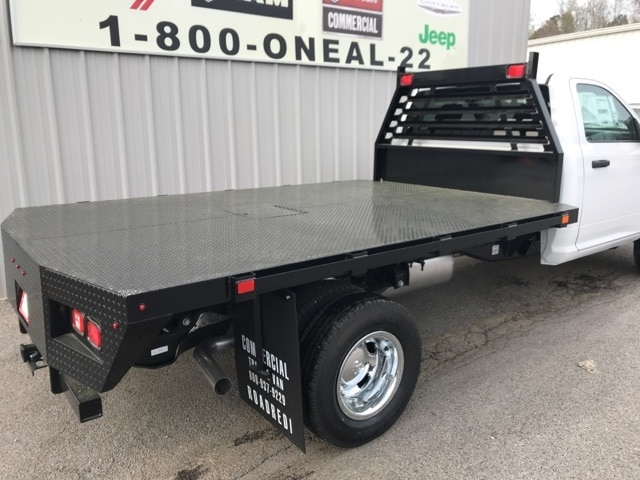 2018 Ram 3500 Regular Cab DRW 4x4,  Commercial Truck & Van Equipment Platform Body #18412 - photo 2