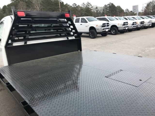 2018 Ram 3500 Regular Cab DRW 4x4,  Commercial Truck & Van Equipment Platform Body #18412 - photo 9