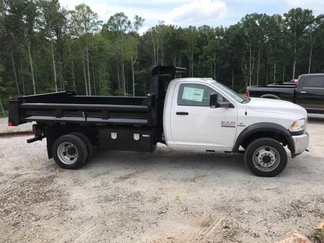 2018 Ram 5500 Regular Cab DRW 4x4,  Rugby Dump Body #18524 - photo 3