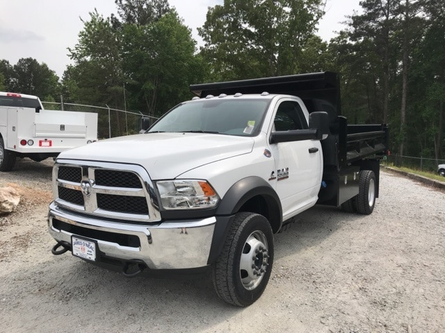 2018 Ram 5500 Regular Cab DRW 4x4,  Rugby Dump Body #18524 - photo 24
