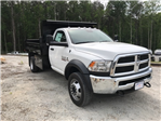 2018 Ram 5500 Regular Cab DRW 4x4,  Rugby Dump Body #18524 - photo 1